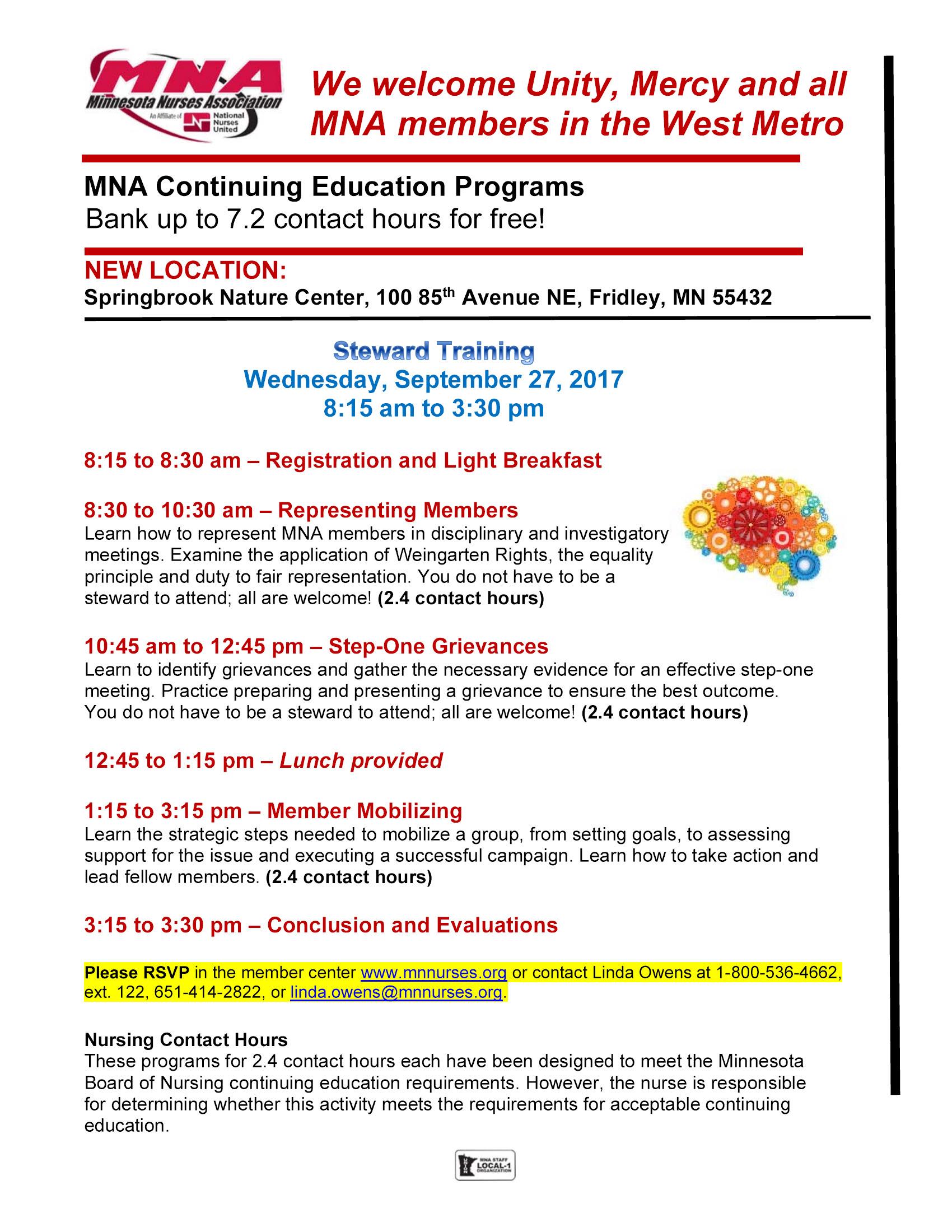 NNU Education Sessions