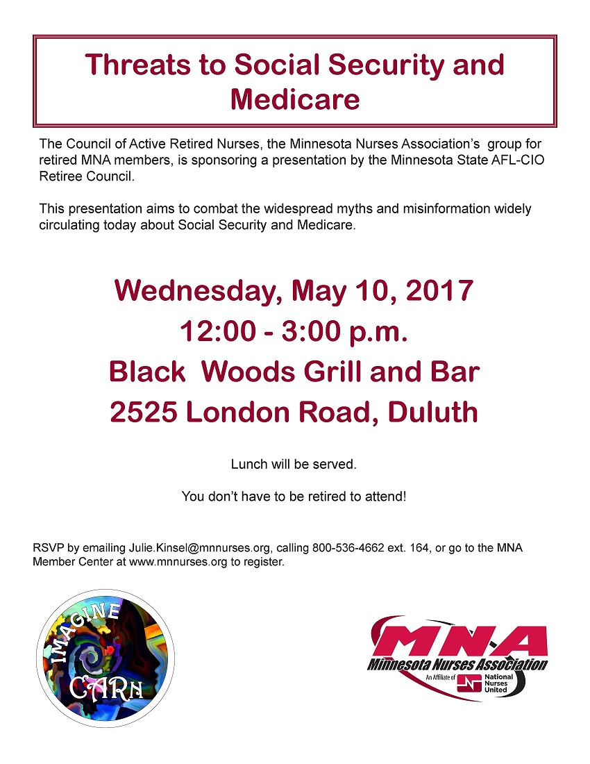 May 10 - Duluth CARn Event