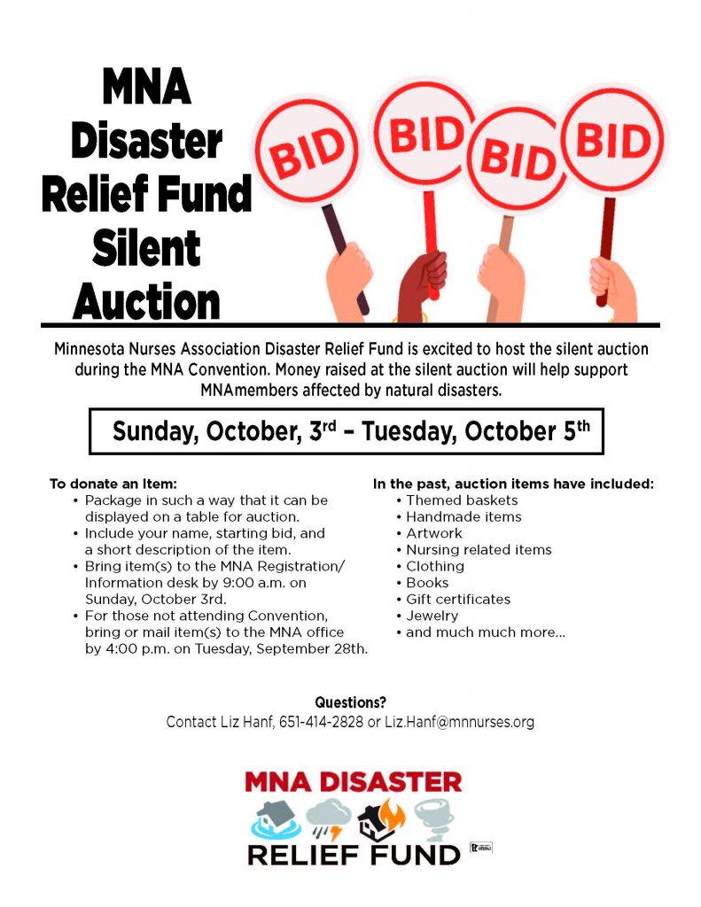 Convention 2021 Silent Auctiont